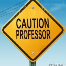 Bild: Caution Professor