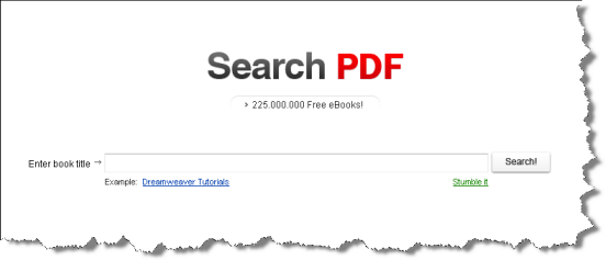 Screenshot Search PDF